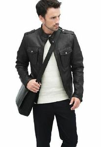 Genuine Leather Lambskin Jacket, Size S, brand new with tags Cambridge Kitchener Area image 4