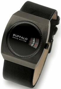 Men's Buffalo David Bitton Wristwatch New-Wide Leather Strap