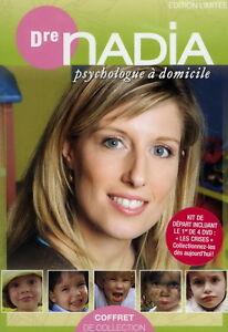 Dvd Dr Nadia Psychologue à domicile #1 et 2 NEUF Saint-Hyacinthe Québec image 1