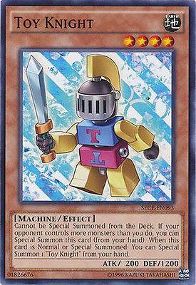 Toy Knight Common Yugioh Card SECE-EN093
