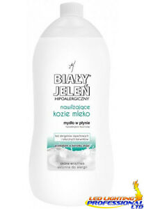 BIALY JELEN HYPOALLERGENIC LIQUID SOAP WITH GOAT'S MILK EXTRACT REFILL 1L