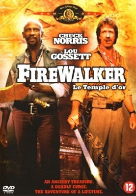 Firewalker NEW PAL Classic DVD J. Lee Thompson Chuck Norris Louis Gossett Jr.
