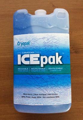ICE Brick Block PACK Cryopak Ice-Pak Brick FOAM REFRIDGERANT Set of 5