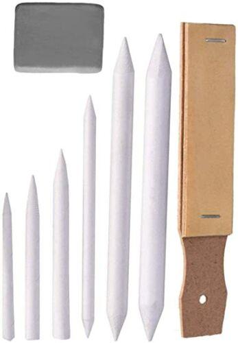 Paper Blending Stumps and Sandpaper Pencil Sharpener Pointer Art Blenders
