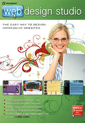 NEW Encore Software Sitespinner Web Design Studio 121071