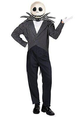 Nightmare Before Christmas - Deluxe Jack Skellington Adult - Jack Skellington Costume Adult