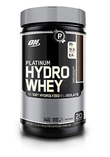 Optimum Nutrition PLATINUM HYDRO WHEY   20 Servings   Ready-