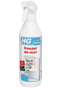 Hg Freezer De Icer Spray 500ml Speeds Up Defrosting