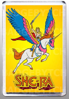 SHE-RA LARGE FRIDGE MAGNET - RETRO CLASSIC!