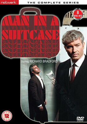 Man in a Suitcase (Complete Series) NEW PAL Cult 8-DVD Set Richard Bradford