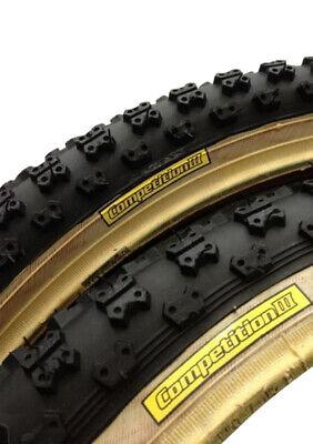 "BLACK//SKINWALL 1 Tioga 20x2.125/""  Re-issue Comp III 3 skinwall BMX tire Single"
