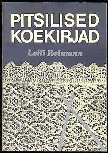 Reimann-RARE-KNITTING-LACEMAKING-MANUAL-ESTONIA-1986