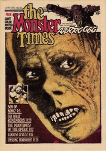 Monster Times Magazine 47 Issues DVD PDF Plus Fantastic Monsters