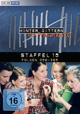 6 DVDs  * HINTER GITTERN - DER FRAUENKNAST : STAFFEL 15 # NEU OVP §
