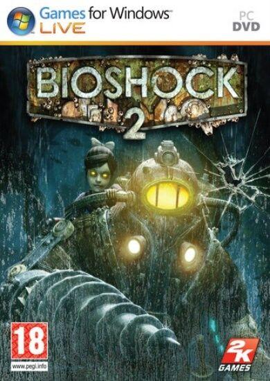 BioShock 2 II for PC XP/VISTA/7 (DVD-ROM) SEALED NEW