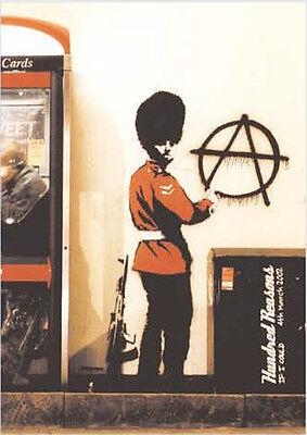 Poster GRAFFITI ART (Banksy) - Anarchy Guardsman NEU zb013