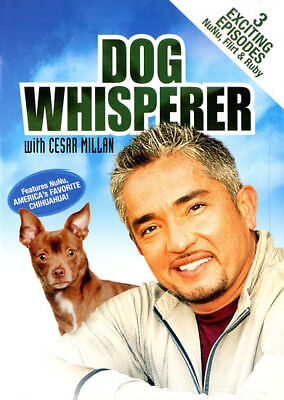 Dog Whisperer with Cesar Millan: 3 Exciting Episodes (DVD) **New**