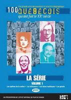 DVD - 100 Québécois qui ont fait le XXe siècle - La série