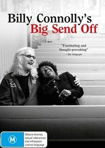 Billy Connolly's Big Send Off (DVD, 2014)  New, Genuine & unSealed  (D178)