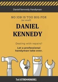 Professional Handyman service NO JOB TO BIG or to small. just give me a call.