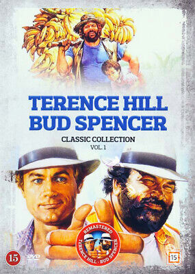 Terence Hill and Bud Spencer Classic Collection 1 NEW PAL Cult 5-DVD Set Steno