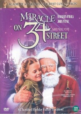 Miracle On 34th Street (1947) DVD - George Seaton (New & Sealed)