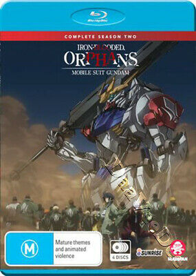 Iron-Blooded Orphans: Mobile Suit Gundam - Season 2 NEW Cult Blu-Ray 4-Disc