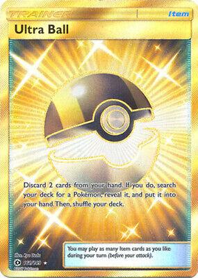 Pokemon Sun and Moon Ultra Ball 161/149 Secret Rare (Secret Rare Ultra Ball Sun And Moon)