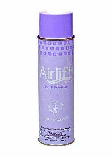 Spartan Chemical 601900 - Airlift Xcelente Odor Eliminator 20oz Aerosol (Case of