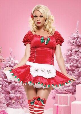 Leg Avenue 83470 'Candy Cane Cutie' Christmas costume xmas - S/M Candy Cane Cutie Costume