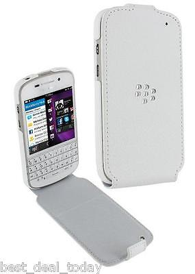Blackberry Leather Flip Shell Case Fit For Q10 Bb10 Bb-10...