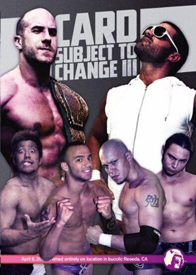 Pro Wrestling Guerrilla: Card Subject To Change 3, PWG Joey Ryan Ricochet