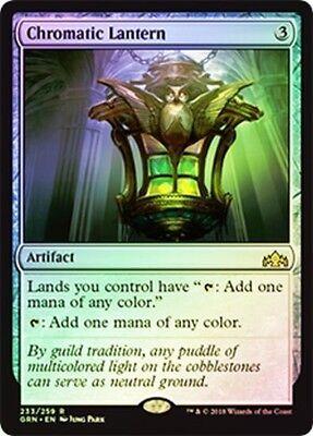 Kid Lantern (***4x FOIL Chromatic Lantern*** MTG Guilds of Ravnica GRN MINT -Kid)