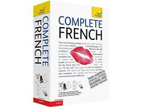 Complete French Course book + 2 CD collection W14 london