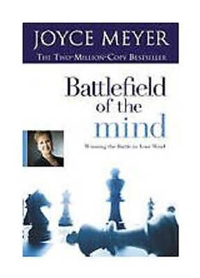 Battlefield of the Mind a Christian paperback book by Joyce Meyer FREE SHIPPING
