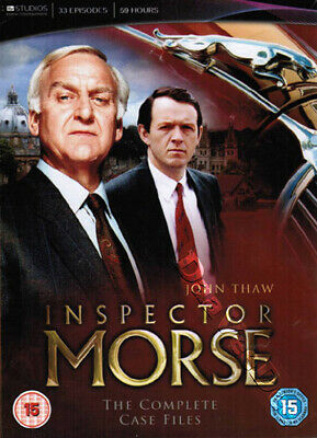 Inspector Morse - Complete Case Files NEW PAL Cult 18-DVD Set J. Thaw K. Whately