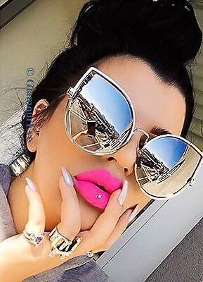 Oversized HUGE Gentle Giant Tear Drop Cat Eye Chola Designer LUX Sunglasses - Huge Eyes