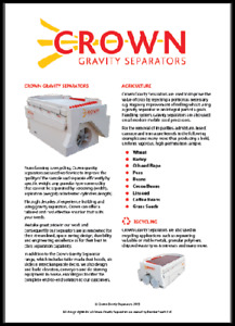 Crown GS18 Gravity tables