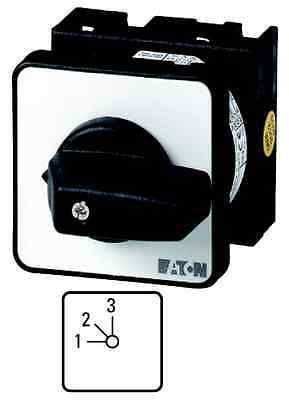 (1 Stk) Stufenschalter  3-Stufen o. Nullstellung 1x20A EATON 088685 // T028230E