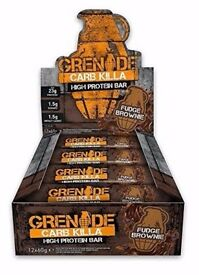 Grenade Carb Killa High Protein and Low Carb Bars