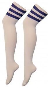 NEW LADIES AND MENS OVER THE KNEE + KNEE HIGH 118-118/REFEREE STYLE SOCKS