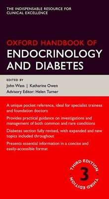 Oxford Handbook of Endocrinology and Diabetes 3rd Edition (PDF) - Fast Delivery