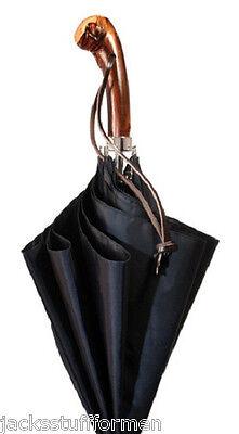 Concord Appalachian Chestnut Knob Handle Handcrafted Mens Umbrella