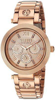 Versus by Versace Women's SCA050016 Camden Market Rose Gold Watch