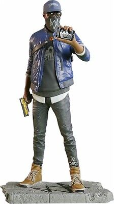 Ubisoft Watch Dogs 2 Marcus Holloway Figurine Statue Game Character Collectible  for sale  Shipping to Nigeria