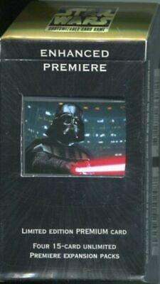 1x Mejorada Estreno: Darth Vader con Sable de Luz: Caja Juego Nuevo Precintado segunda mano  Embacar hacia Spain