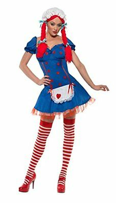 *CLEARANCE* Halloween Ragdoll Women's Fancy Dress Costume (Smiffys)