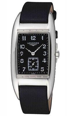 Longines BelleArti Stainless Steel Mens Luxury Swiss Strap Watch L2.694.4.53.3