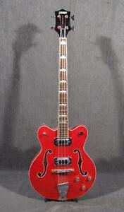 Basse Gretsch G5442BDC Electromatic Transparent Red (i025011)