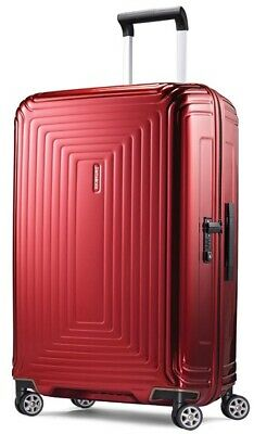 """Samsonite Neopulse Spinner 30""""  in Metallic Red NEW WITH TAGS!"""